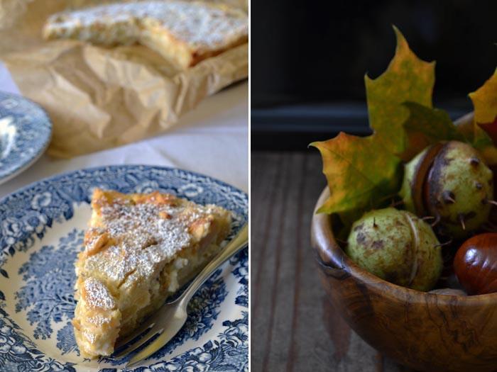 Sonntagskuchen Apfel Quark Kuchen Kulinarithek